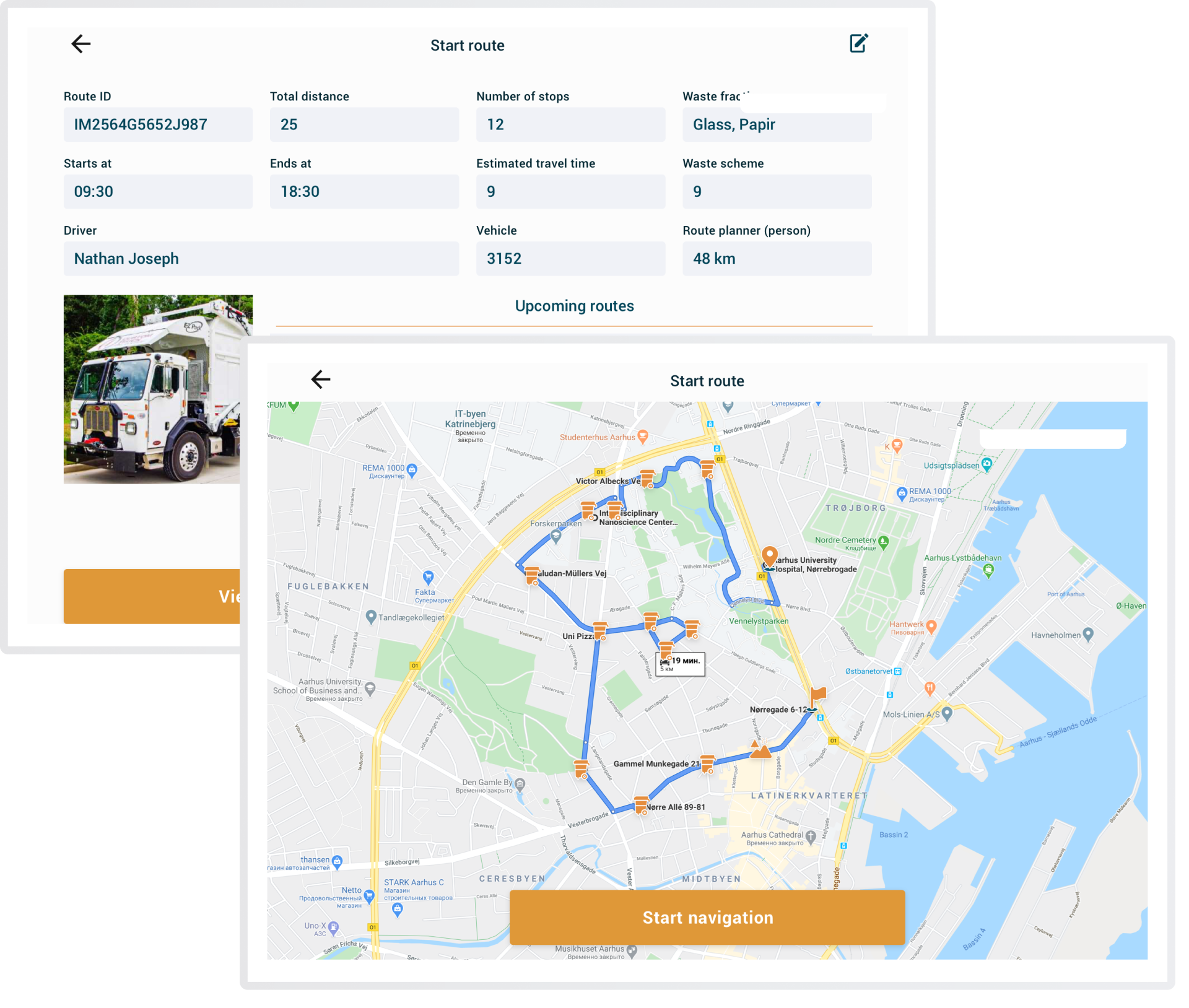 Efficient route planner